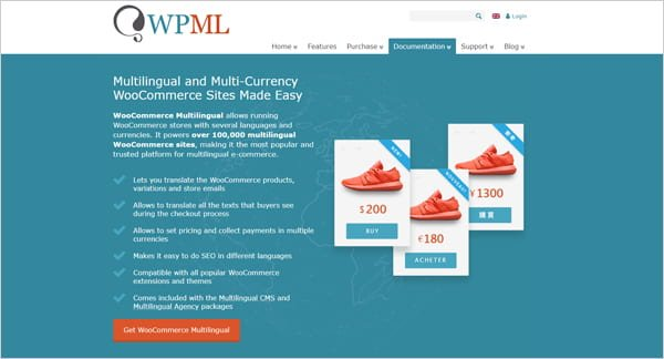 WPML - WordPress Multilingual Plugin.