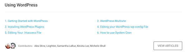 plenty of wordpress support on hand at WPMU DEV!