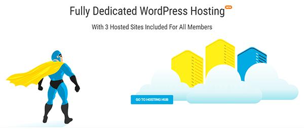 WPMU DEV Hosting's landing page screenshot