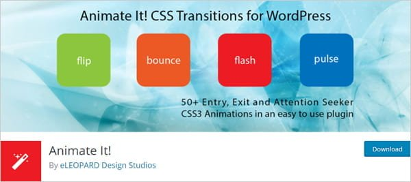 AnimateIt WordPress Plugin