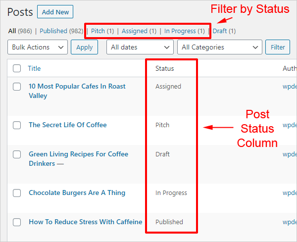 Edit Flow WordPress Plugin