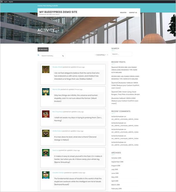 , The Best Free BuddyPress Themes (2020), Rojak WP