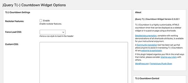 JQuery T Widget options.