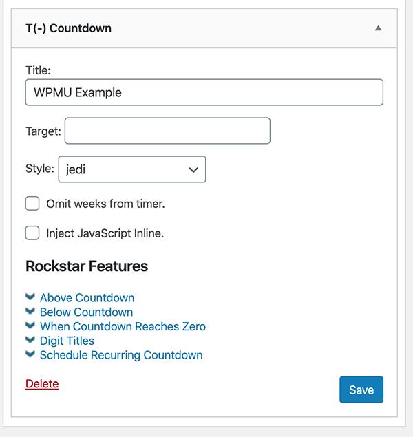 jQuery widget customization.