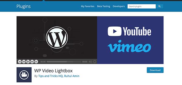 WP Video Lightbox download.