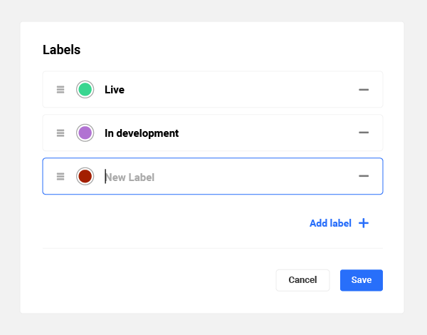 The Hub's new filter design.