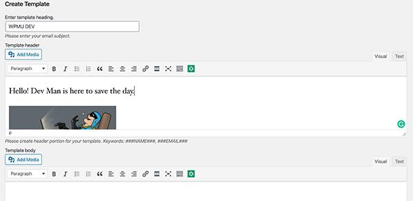 Gogiplus mail template custom.