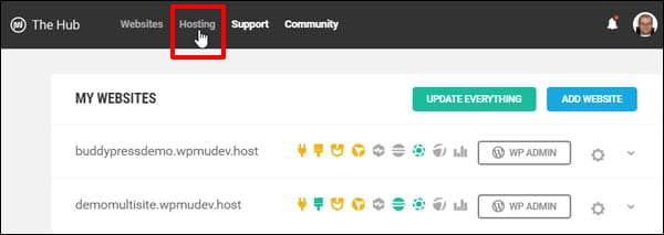 The Hub - Hosting