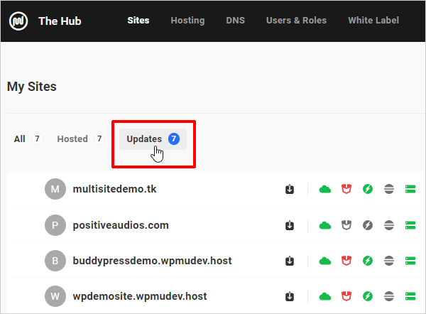The Hub Updates