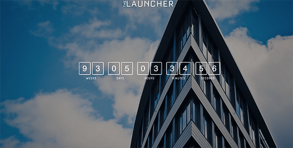 Launcher example.