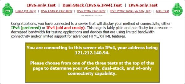 testmyipv6.com