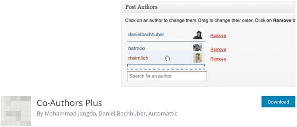 Co-authors plus lets you add multiple authors to posts.