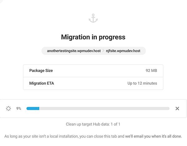 Site migration in progress.