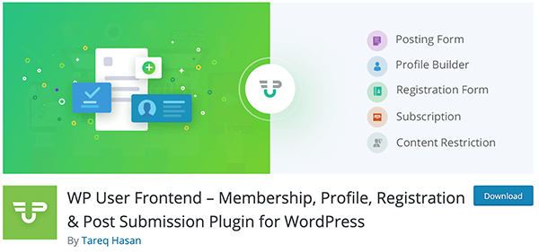 WP User Frontend