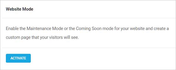 Branda Website Mode