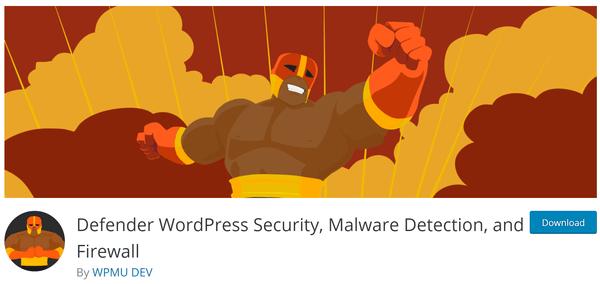 Capture d'écran de Defender de wordpress.org