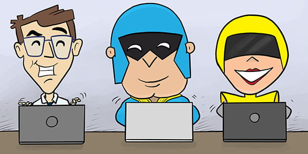 Forminator, Dev Man, and Hummingbird all working on a multi-author site.