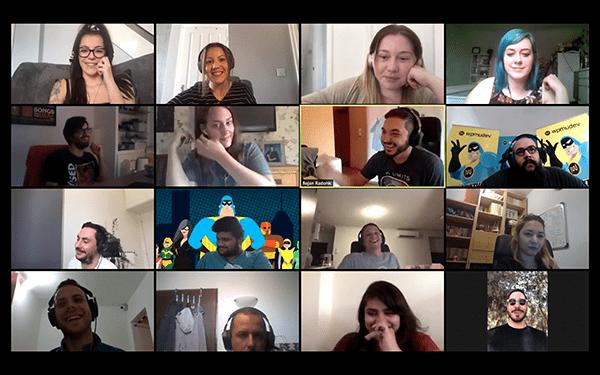 WPMU slack meeting
