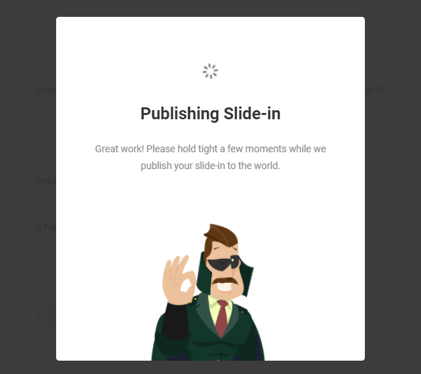 Hustle Publishing screen
