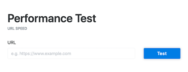 A look at the tool we used to test each host's speed and TTFB