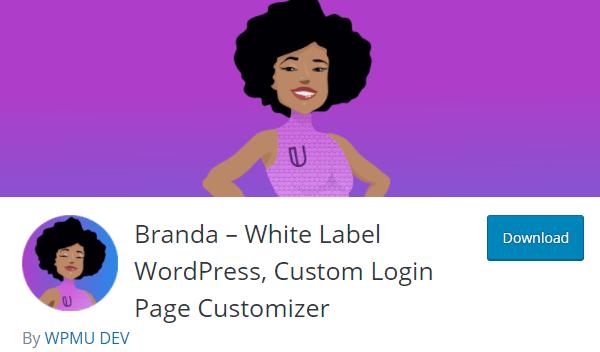 Screenshot of Branda from WP.org