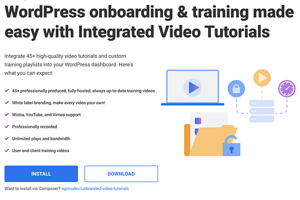 Where you download the integrated videos plugin.