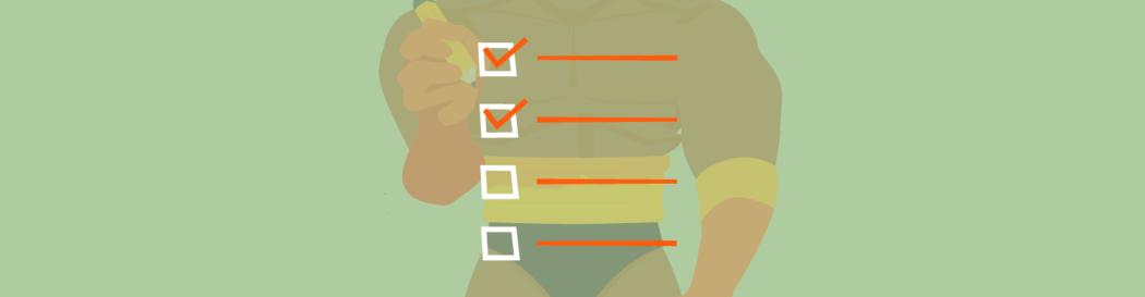 Image of Defender Ticking off a checklist.