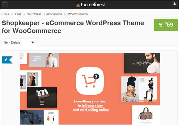 Shopkeeper - eCommerce Theme for WordPress.