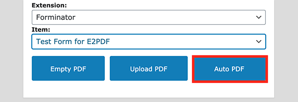 The auto PDF button.