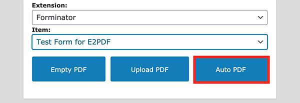 The auto PDF button.