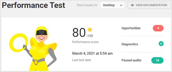Hummingbird Performance Test - Desktop.