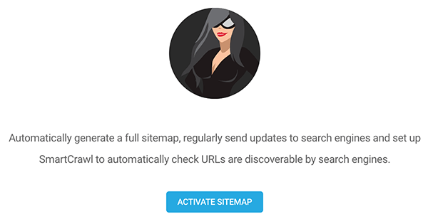 Where you activate sitemap.