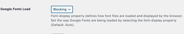 The google fonts load in elementor dashboard.