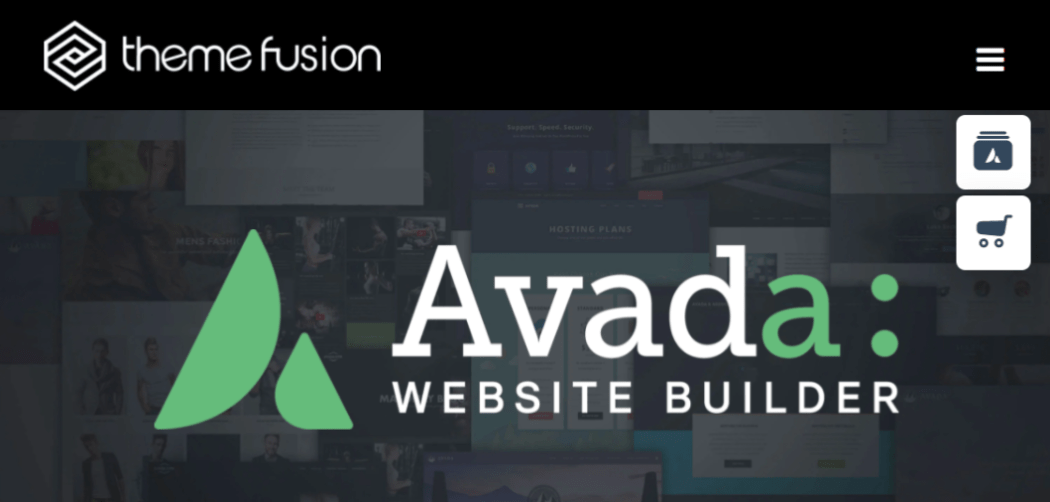 Avada website builder.