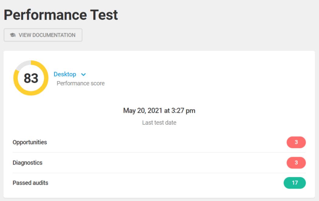 Hummingbird performance test 83