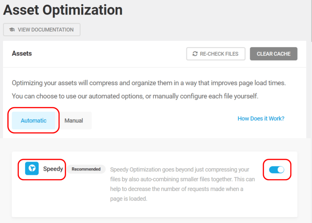 Hummingbird asset optimization auto speedy fix