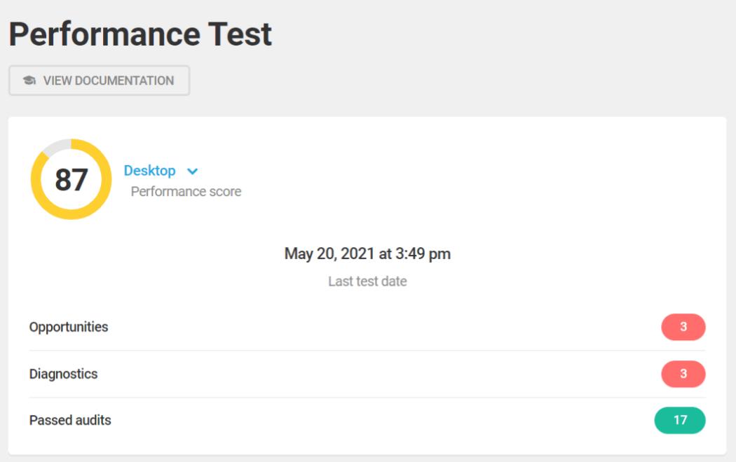 Hummingbird performance test 87