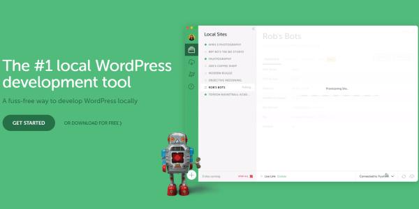 Converting HTML sites to WordPress - Local By Flywheel Dev Environment