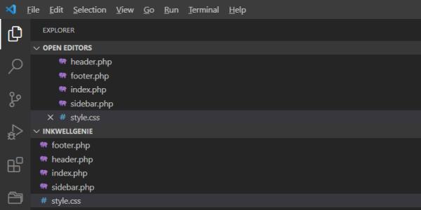 Converting HTML sites to WordPress - Theme Files
