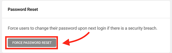 the force password button