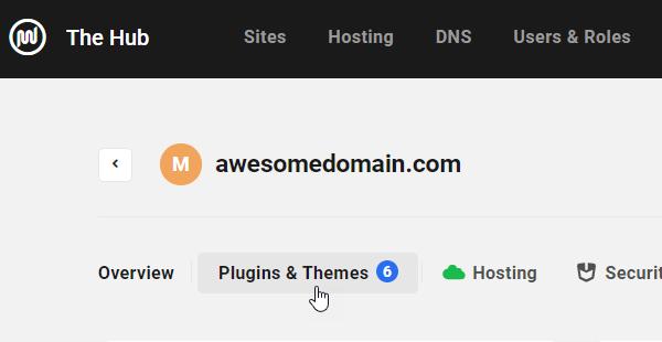 The Hub - Plugins & Themes