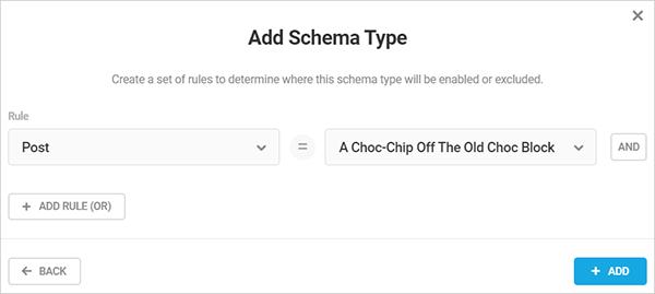 Schema Type rules.