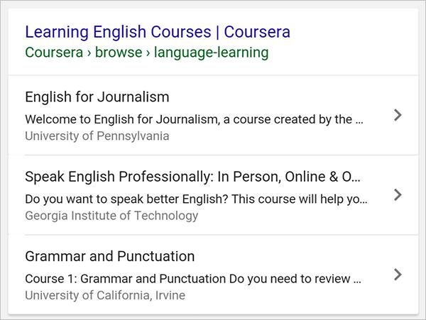 Schema type course