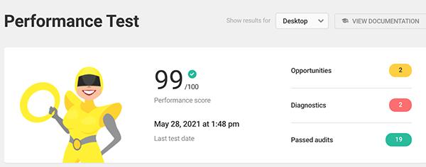 Final hummingbird performance test.