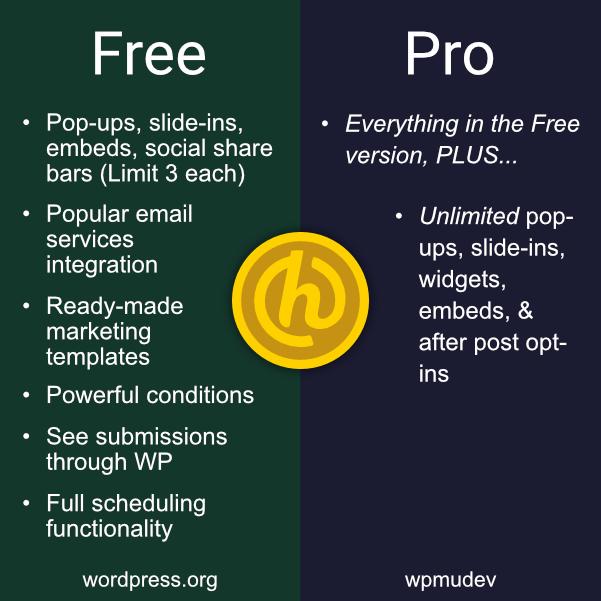 Hustle free vs pro