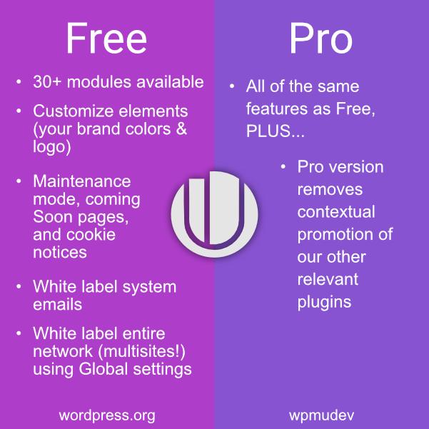 Branda free vs pro