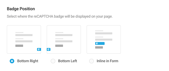 Image of badge position options.