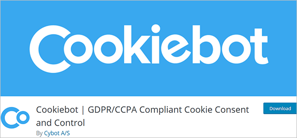 Cookiebot | GDPR/CCPA Compliant Cookie Consent and Control