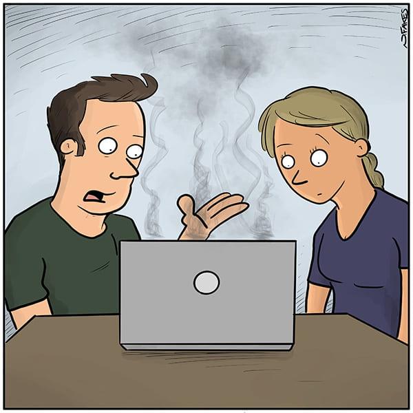 caption contest cartoon.