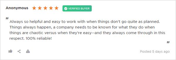 WPMU DEV Review from reviews.io